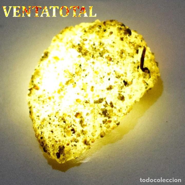ZAFIRO AMARILLO EN BRUTO DE 56,60 KILATES CON CERTIFICADO IGL MEDIDA 3,4 X 2,4 CENTIMETROS -Nº13 (Coleccionismo - Mineralogía - Otros)