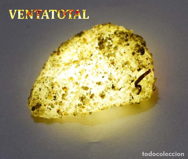 ZAFIRO AMARILLO EN BRUTO DE 66,80 KILATES CON CERTIFICADO IGL MEDIDA 3,9 X 2,6 CENTIMETROS -Nº6 (Coleccionismo - Mineralogía - Otros)