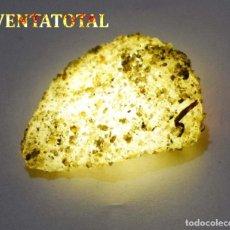 Coleccionismo de minerales: ZAFIRO AMARILLO EN BRUTO DE 66,80 KILATES CON CERTIFICADO IGL MEDIDA 3,9 X 2,6 CENTIMETROS -Nº6. Lote 118541723