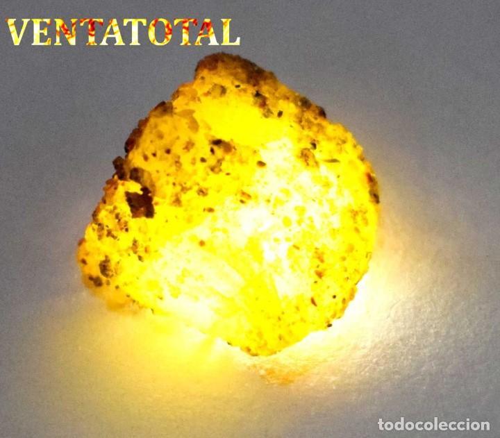 ZAFIRO AMARILLO EN BRUTO DE 47,70 KILATES CON CERTIFICADO IGL MEDIDA 2,4 X 2,1 CENTIMETROS -Nº12 (Coleccionismo - Mineralogía - Otros)