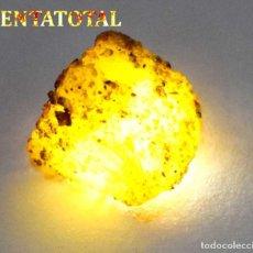 Coleccionismo de minerales: ZAFIRO AMARILLO EN BRUTO DE 47,70 KILATES CON CERTIFICADO IGL MEDIDA 2,4 X 2,1 CENTIMETROS -Nº12. Lote 118543539