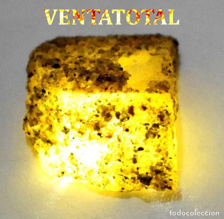 ZAFIRO AMARILLO EN BRUTO DE 52,05 KILATES CON CERTIFICADO IGL MEDIDA 2,9 X 2,3 CENTIMETROS -Nº7 (Coleccionismo - Mineralogía - Otros)