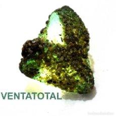 Coleccionismo de minerales: ZAFIRO AZUL EN BRUTO DE 88,10 KILATES - MIDE 3,2 X 2,7 X 1,8 CENTIMETROS CON CERTIFICADO IGL - Nº1. Lote 118703439