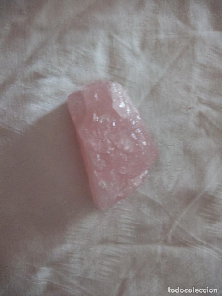 Coleccionismo de minerales: Mineral natural cuarzo rosa. - Foto 2 - 118775031