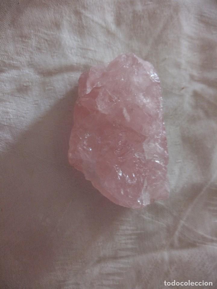 Coleccionismo de minerales: Mineral natural cuarzo rosa. - Foto 3 - 118775031