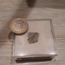 Coleccionismo de minerales: METEORITO ESPAÑOL OLMEDILLA DE ALARCÓN, H5 CONDRITA, 1929 EN CUENCA. CERTIFICADO AUTENTICIDAD.. Lote 120284095