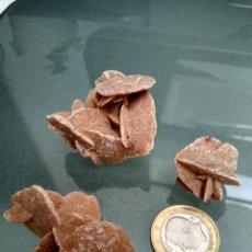 Coleccionismo de minerales: 3 ROSAS DEL DESIERTO. Lote 121497203