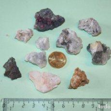 Coleccionismo de minerales: LOTE Nº 63 --) PIEDRAS MINERALES NATURALES MASIVAS (A CATALOGAR). Lote 121529375
