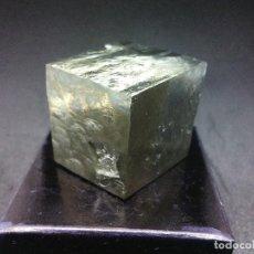 Coleccionismo de minerales: PIRITAS - CURIOSO CUBO DE PIRITA - ESPAÑA. Lote 121558743