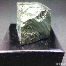 Coleccionismo de minerales: PIRITAS - CURIOSO CUBO DE PIRITA - ESPAÑA. Lote 121559299