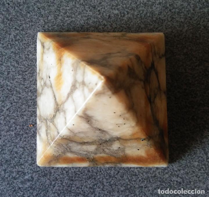 Coleccionismo de minerales: Piramide mármol - Foto 5 - 123047583