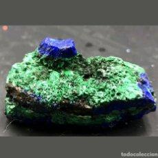 Coleccionismo de minerales: MINERAL AZURITA MALAQUITA. Lote 125208919
