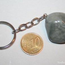 Coleccionismo de minerales: LLAVERO PIEDRA MINERAL NATURAL Nº 1 *** COLECCION PRIVADA *** IMPECABLE. Lote 125423127