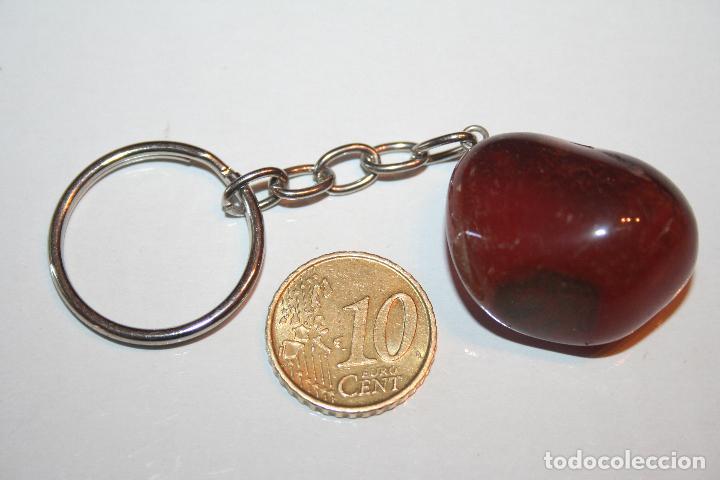 LLAVERO PIEDRA MINERAL NATURAL Nº 9 *** COLECCION PRIVADA *** IMPECABLE (Coleccionismo - Mineralogía - Otros)