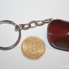 Coleccionismo de minerales: LLAVERO PIEDRA MINERAL NATURAL Nº 9 *** COLECCION PRIVADA *** IMPECABLE. Lote 125838883