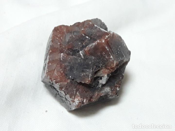 Coleccionismo de minerales: Macla Aragonito negro mineral de Cuenca España - Foto 3 - 127390375