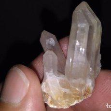 Coleccionismo de minerales: PEQUEÑA DRUSA VILLASBUENAS SALAMANCA. Lote 128152423