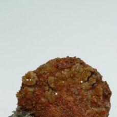 Coleccionismo de minerales: YESO ROJO Y CUARZO - MINERAL. Lote 128164035