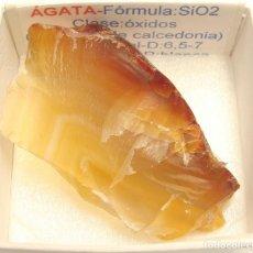 Coleccionismo de minerales: ÁGATA. Lote 130444954