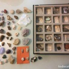 Coleccionismo de minerales: LOTE DE MINERALES Y FÓSILES. Lote 129148088