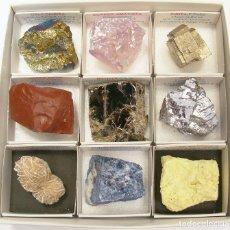 Coleccionismo de minerales: COLECCIÓN BÁSICA DE MINERALES. Lote 129473511