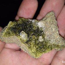 Coleccionismo de minerales: EPIDOTA ( ALICANTE ). Lote 130103931