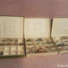 Coleccionismo de minerales: LOTE COLECCIÓN MINERALES Y ROCAS. Lote 130120795