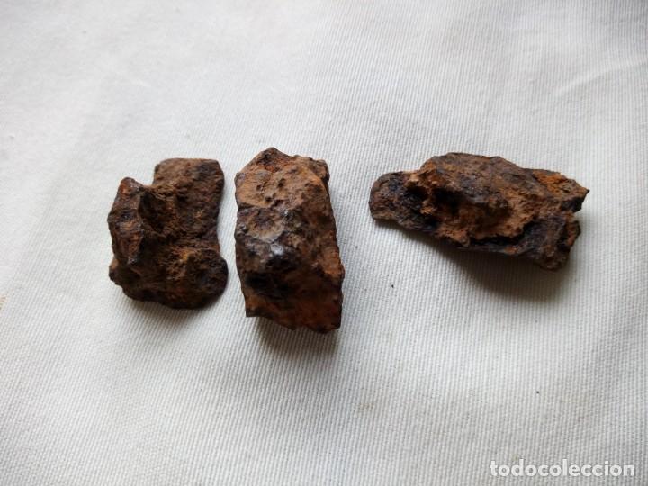 Coleccionismo de minerales: Hematita o hematites. Mineral de hierro 3 piezas - Foto 3 - 132018414