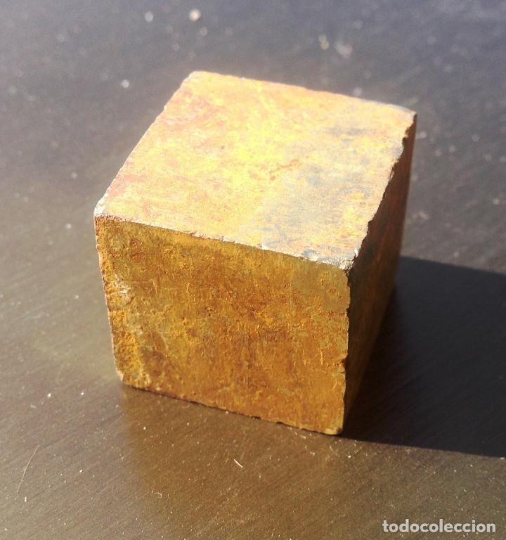 PIRITA- CUBO PERFECTO (Coleccionismo - Mineralogía - Otros)