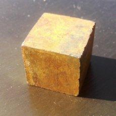 Coleccionismo de minerales: PIRITA- CUBO PERFECTO. Lote 132315614