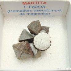 Coleccionismo de minerales: MARTITA CON IMÁN. Lote 132689126