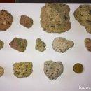 Coleccionismo de minerales: LOTE DE 12 MINERALES DE HORNBLENDA (ANDESITA) ALMERÍA.. Lote 132708554