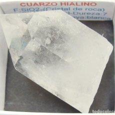Coleccionismo de minerales: CUARZO HIALINO. Lote 132942746