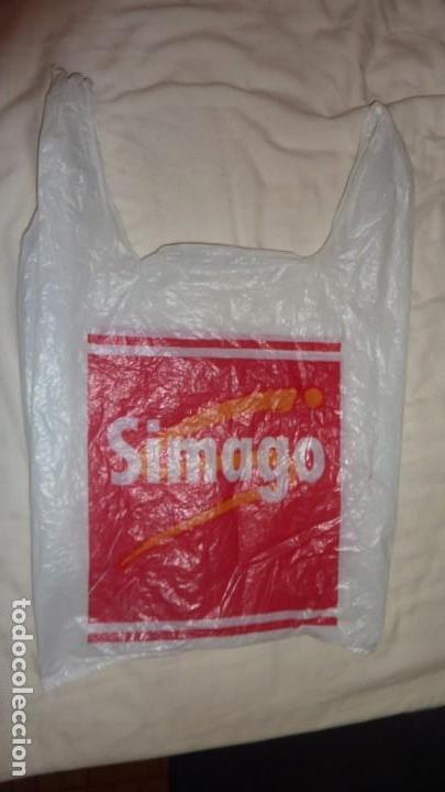 Coleccionismo de minerales: bolsa de plástico de SIMAGO. Años 90. - Foto 2 - 134113422