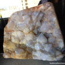 Coleccionismo de minerales: CUARZO.- GRAN PIEZA.. CRISTALES GRANDES-. Lote 135123674