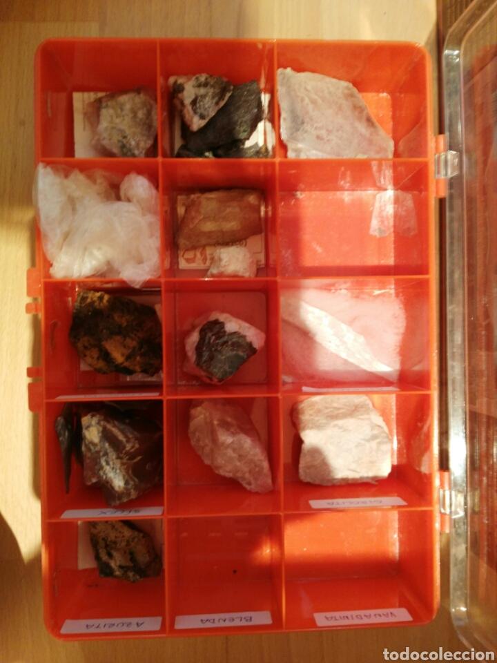 Coleccionismo de minerales: 9 CAJAS DE MINERALES, COLECCION - Foto 7 - 136591926