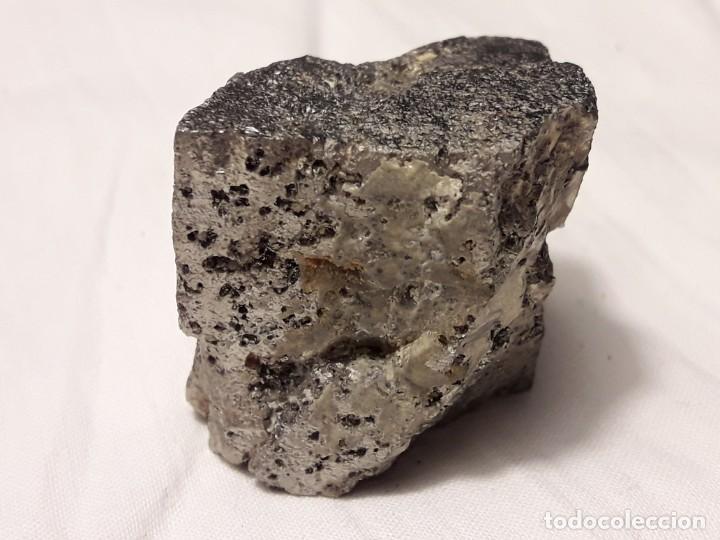 Coleccionismo de minerales: Magnifica pieza de colección rara pirita pieza única 3.5cm - Foto 5 - 138111510