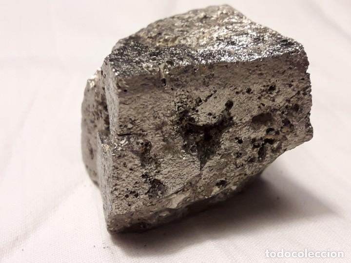 Coleccionismo de minerales: Magnifica pieza de colección rara pirita pieza única 3.5cm - Foto 6 - 138111510