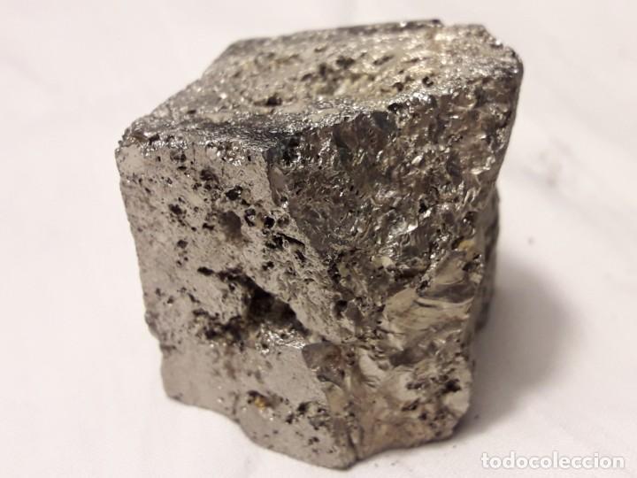 Coleccionismo de minerales: Magnifica pieza de colección rara pirita pieza única 3.5cm - Foto 7 - 138111510