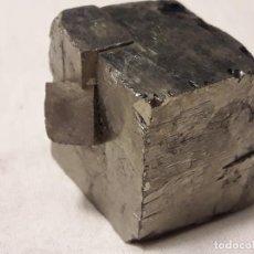 Coleccionismo de minerales: MAGNIFICA PIEZA DE COLECCIÓN MACLA PIRITA PIEZAS ÚNICAS 2.5CM NAVAJUN. Lote 138114342
