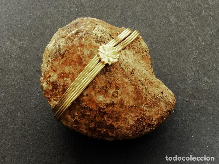 CAJA GEODA DE AMATISTA - BELLÍSIMA GEODA CONVERTIDA EN CAJA - EL ARTE EN LA HISTORIA NATURAL (Coleccionismo - Mineralogía - Otros)