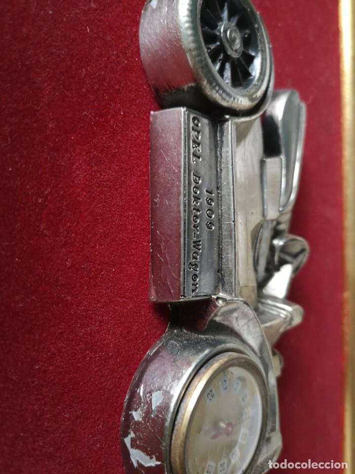Coleccionismo de minerales: Cuadro vehículo opel doktor wagen modelo 1909 - Foto 2 - 142319438
