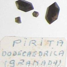Coleccionismo de minerales: PIRITA DODECAEDRICA - PROCEDENTE DE GRANADA-. Lote 144320130
