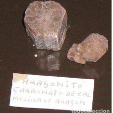 Coleccionismo de minerales: ARAGONITO CARBONATO DE CAL CRISTALIZADO - PROCEDENCIA MOLINA DE ARAGON. Lote 144602978