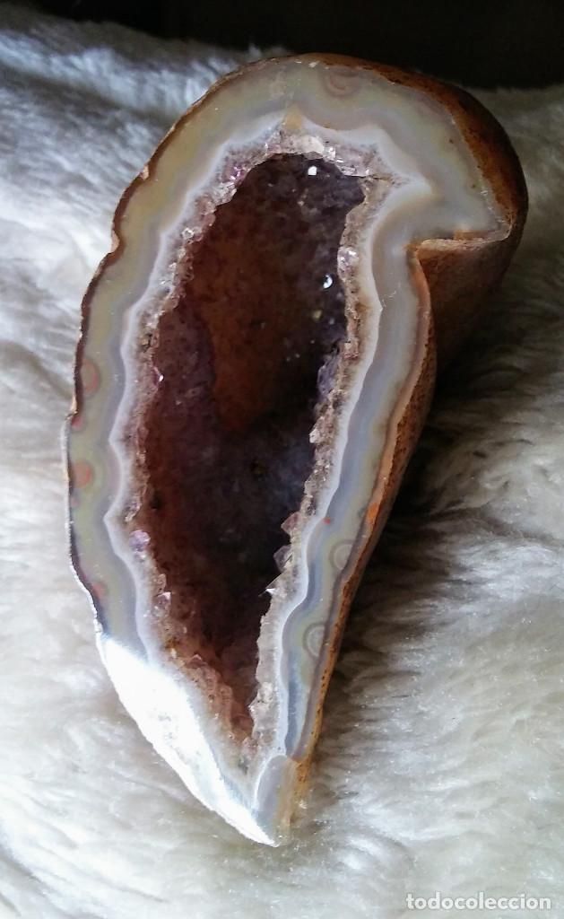 MINERAL TRASLUCIDO TRASPARENTE (Coleccionismo - Mineralogía - Otros)