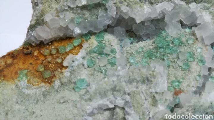 Coleccionismo de minerales: FLUORITA +CALCITA - MINERAL - Foto 3 - 145265933