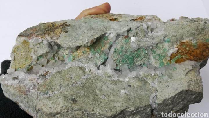 Coleccionismo de minerales: FLUORITA +CALCITA - MINERAL - Foto 6 - 145265933