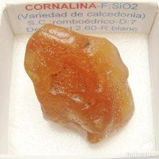 Coleccionismo de minerales: CARNEOLA-CORNALINA. Lote 147929038