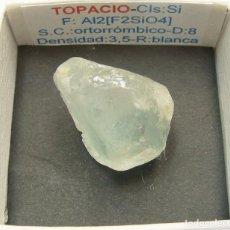Coleccionismo de minerales: TOPACIO. Lote 147930022