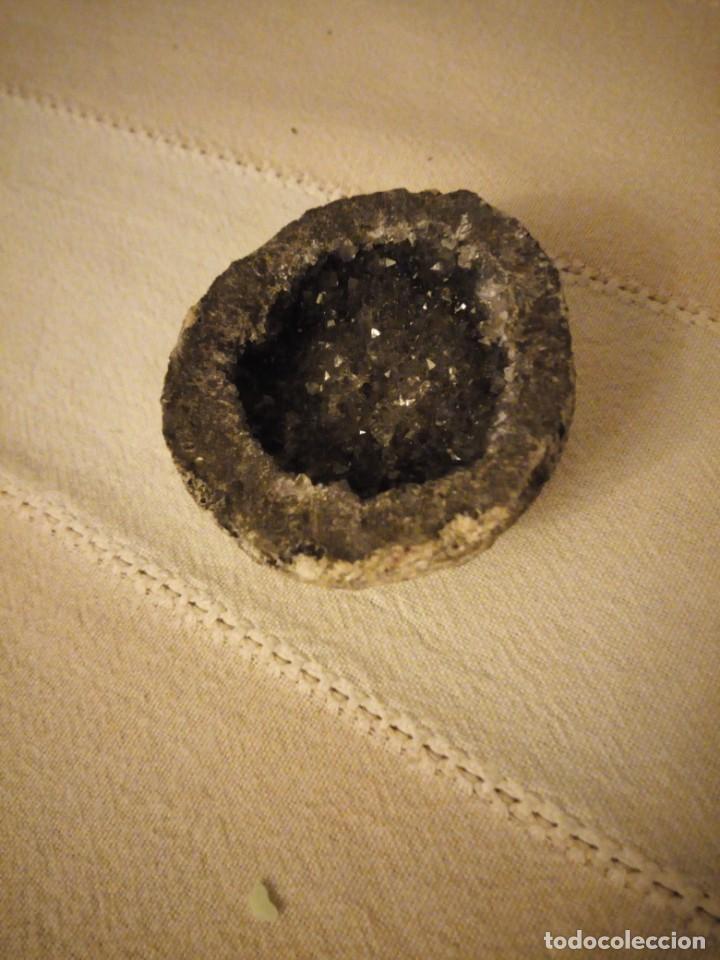 Coleccionismo de minerales: Bonito cuarzo negro. - Foto 2 - 151640022